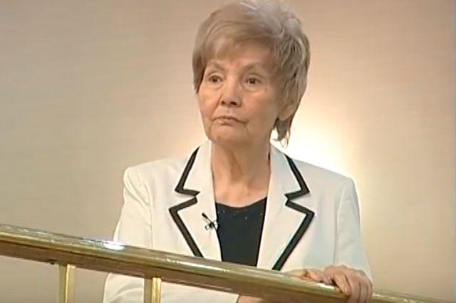 Фариза Онгарсынова.