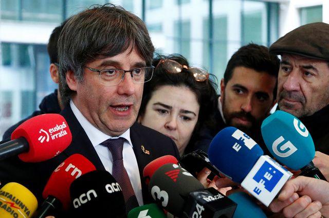 Карлес Пучдемон сдался бельгийским властям