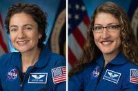 Впервые в истории: две женщины-астронавты вышли в открытый Космос