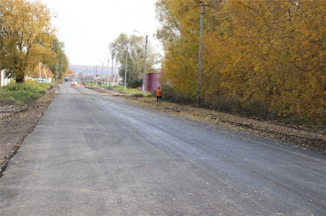 В Тюменском районе завершается ремонт дорог