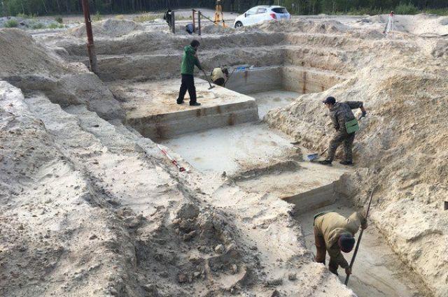 В окрестностях Покачей недавно нашли крупное скопление памятников