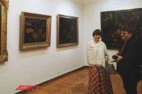 В Оренбурге впервые открылась выставка полотен Эрмитажа.
