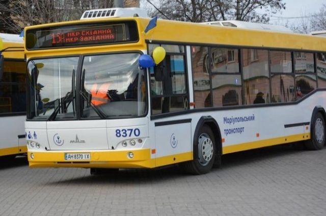 В Мариуполе пассажиры автобуса устроили массовую драку