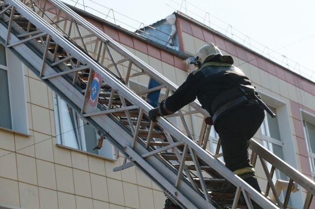 Площадь пожара составила 56 кв. метров. Огонь ликвидирован.