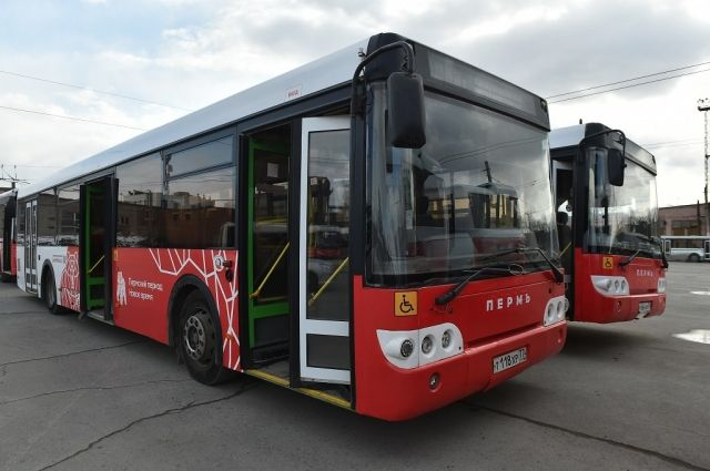 Маршрут поменяется при следовании автобуса в направлении от станции «Пермь-2»