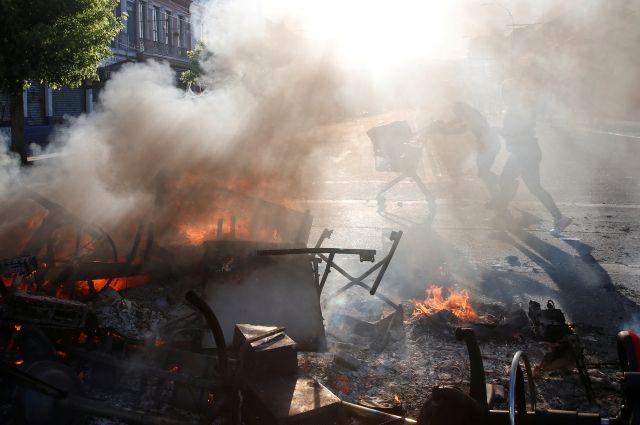 Число жертв беспорядков в Чили возросло до десяти