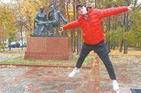 Народный парк между Ленинским проспектом иулицей Крупской– любимая зона отдыха.