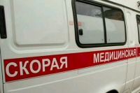 Скорая увезла водителя КамАза и ВАЗа