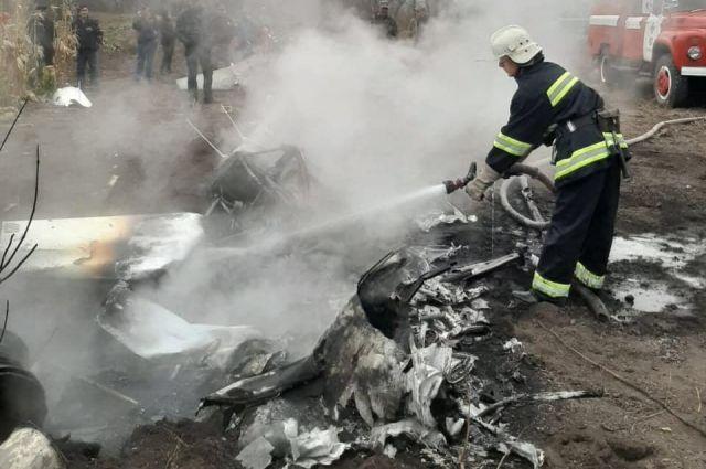 В Полтавской области разбился вертолет: погиб бывший министр