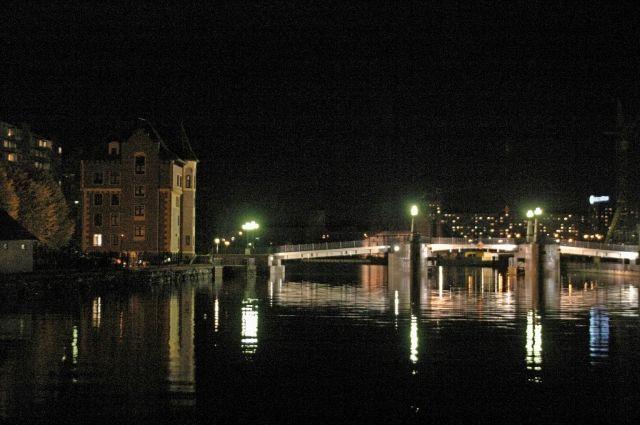 Мосты разведут в Калининграде в ночь с 23 на 24 октября
