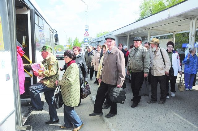 В Оренбурге дачные автобусы прекращают свою работу.