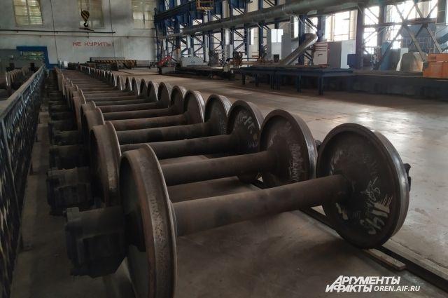 В Орске проводится санация бывшего вагоноремонтного завода.
