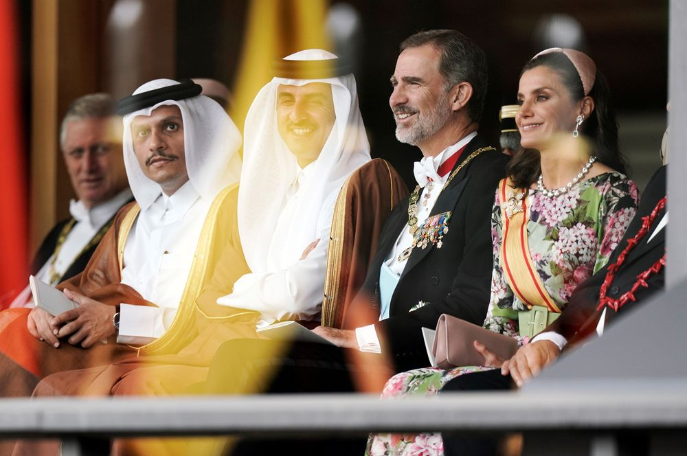 Испанский король Филипп VI и королева Летисия.