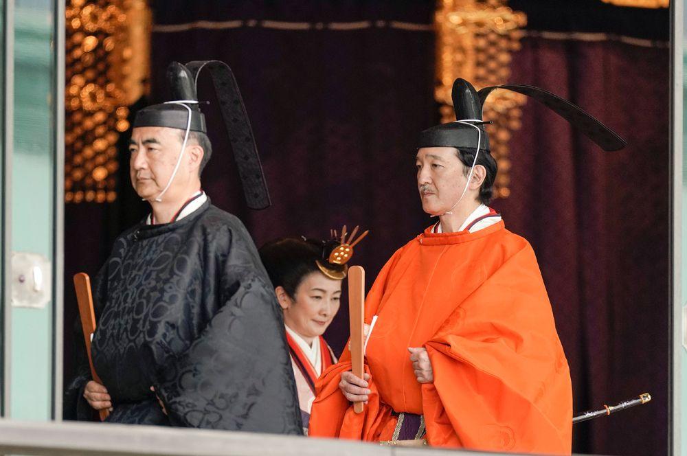 Наследный принц Японии Акисино.