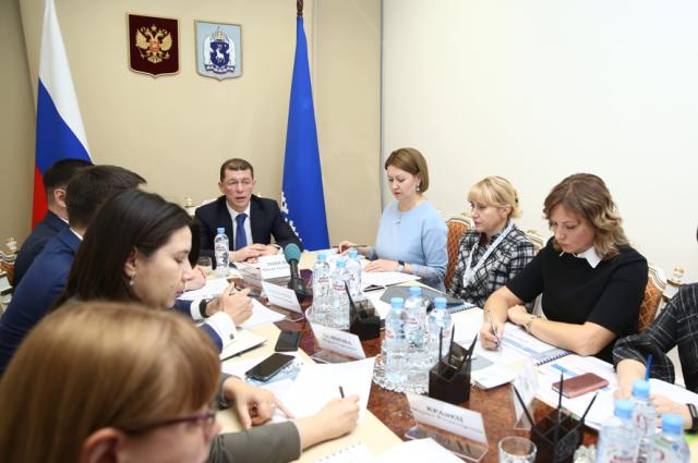 Министру труда РФ доложили о реализации нацпроекта «Демография» в ЯНАО