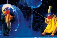 В Новосибирске в Дворце культуры железнодорожников стартовало легендарное «сНежное шоу» Славы Полунина.