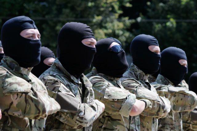 Бойцы батальона «Азов».