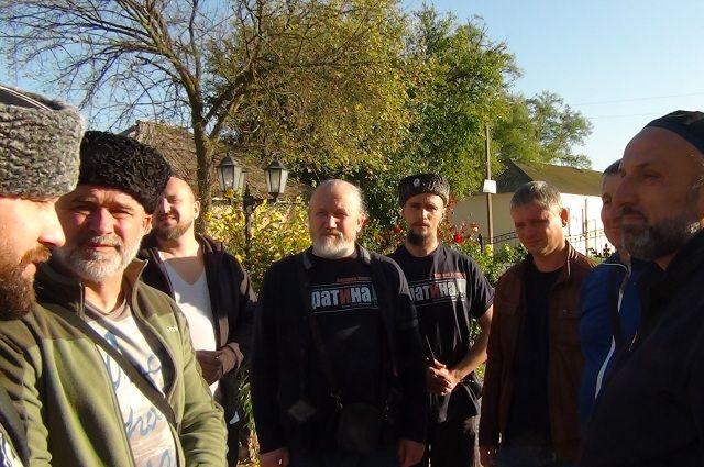 Казакам из Питера было о чём поговорить с жителями Чечни