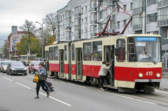 На правом берегу Красноярска появися скоростной трамвай.