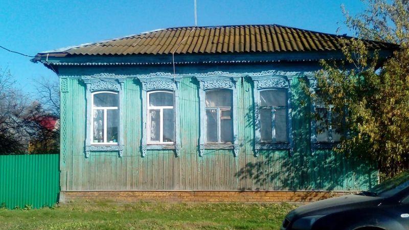 Так дом выглядит с улицы.