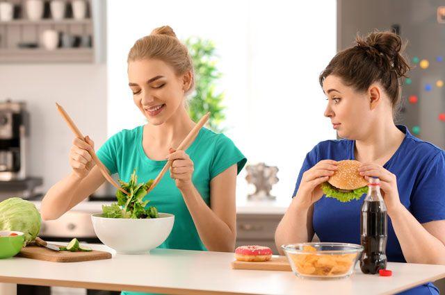 Диета без вреда и голода. Американский учёный придумал, как быстро похудеть