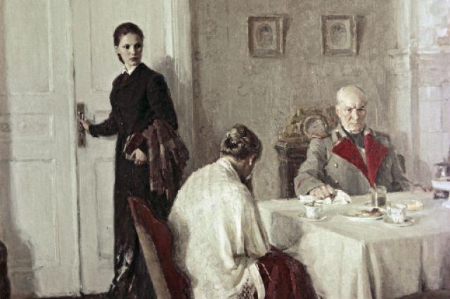 Репродукция картины «Софья Ковалевская» художницы Марины Андреевны Ивановой.