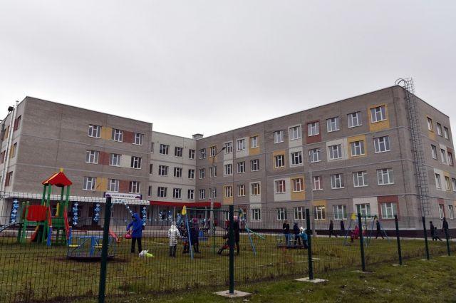 Новая школа на 550 мест стала самой большой в крае, не считая красноярские.