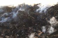 Дым от пожара до города не добрался.
