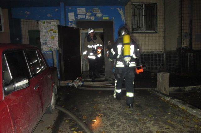 Пожар в многоэтажном доме в Одессе: среди пострадавших ребенок