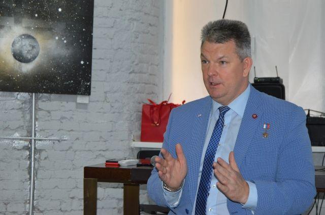 Лётчик-космонавт Александр Самокутяев