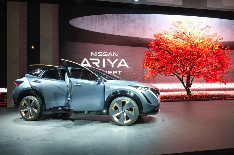 Концепт-кар Nissan Ariya.