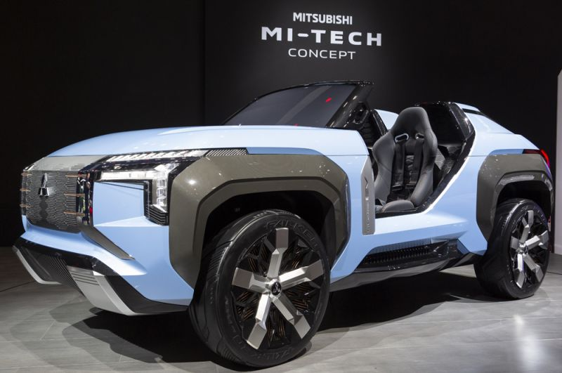 Концепт гибридного внедорожника Mitsubishi MI-Tech.