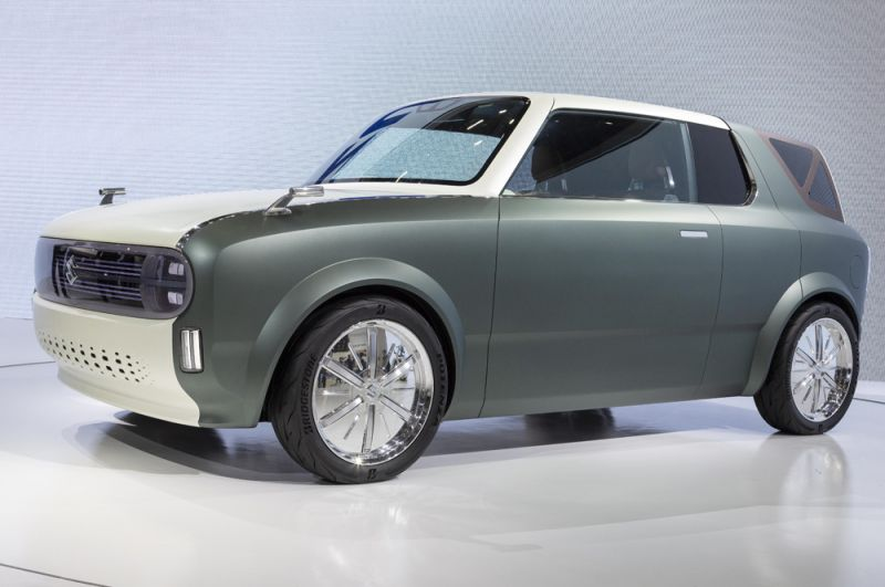 Концепт малолитражки Suzuki Waku Spo.
