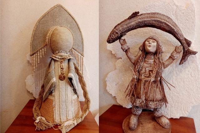 Глядя на эти фигурки, трудно поверить, что они сделаны не из дерева или кости.