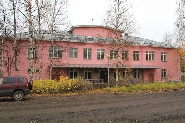 Здание на улице Мичуринской.