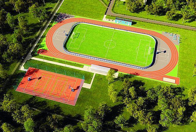 На спортивной площадке смогут заниматься, как профессиональные спортсмены и воспитанники спортивных школ Сыктывкара, так и жители и гости пгт. Верхняя Максаковка.