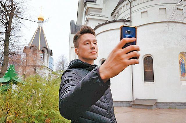 Фотографии на фоне Котловки всегда получаются выигрышными, считает певец.