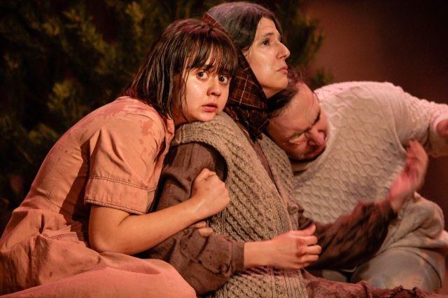 Спектакль «Лада, или радость» представляет студенческий театр «Синяя птица».