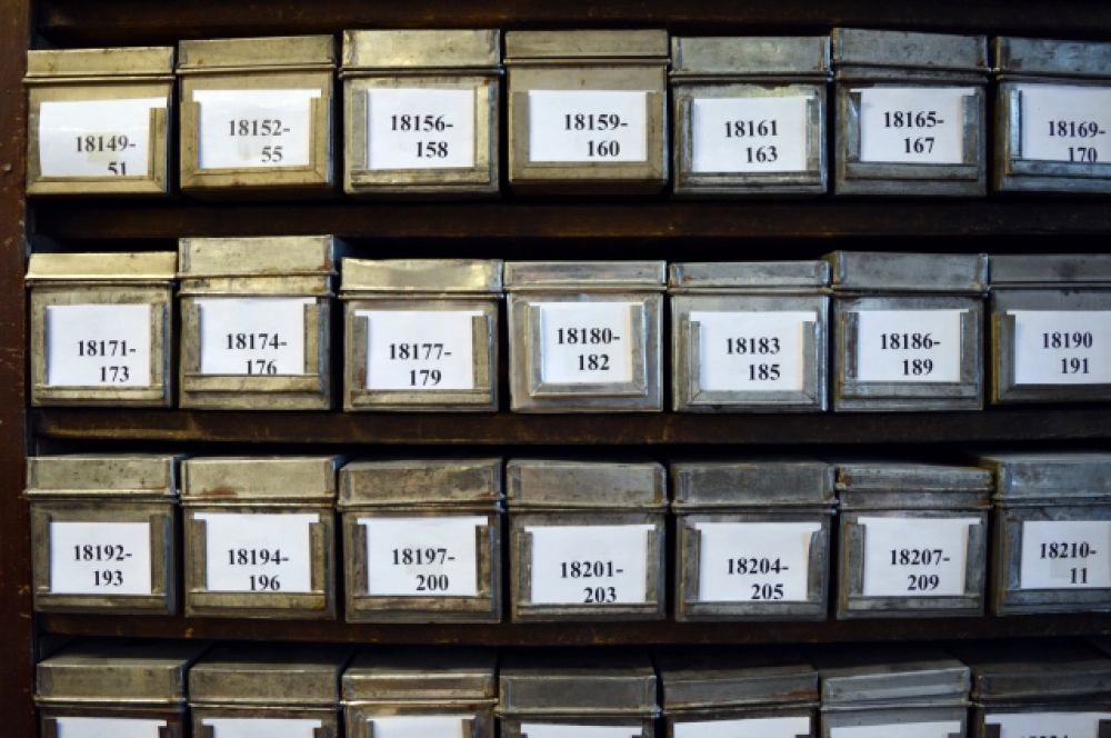 В таких коробочках хранили образцы еще при Вавилове.