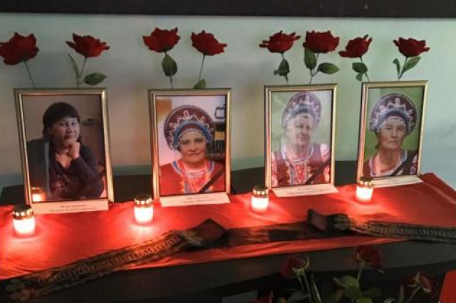Слева направо: Мария Мартюшова, Лидия Афанасьева, Светлана Гетманова, Валентина Попова