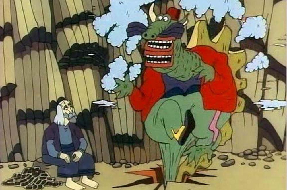 «Ух ты, говорящая рыба!» (1983), рейтинг 8,3. Рисованный мультфильм, созданный по мотивам сказки Ованеса Туманяна «Говорящая рыбка» — вариации сюжета о золотой рыбке.