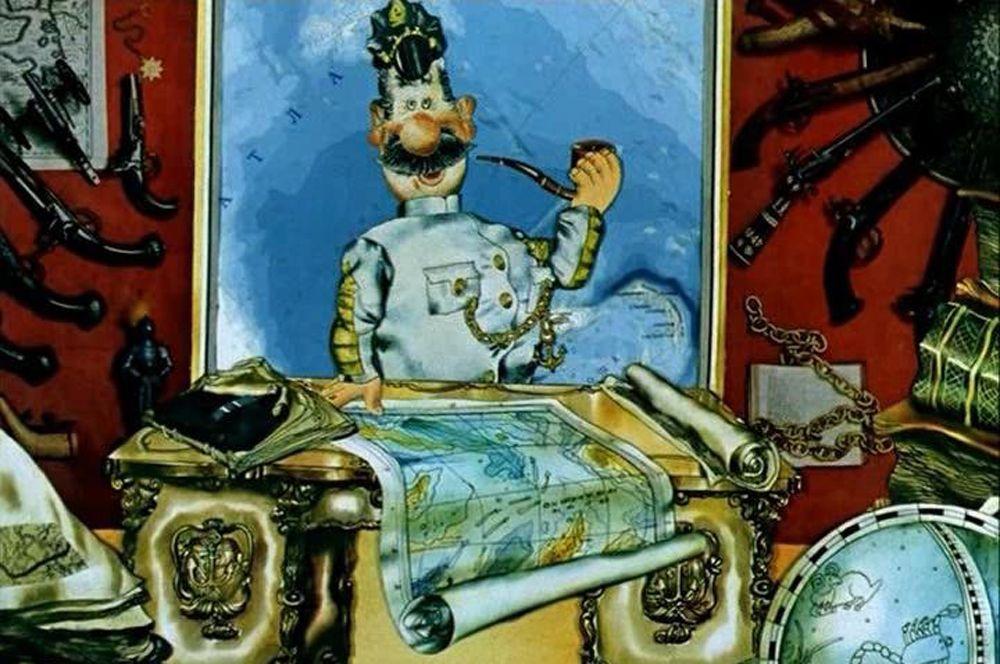 «Приключения капитана Врунгеля» (1976-1978), рейтинг 8,2. Мультфильм Давида Черкасского об удивительных приключениях легендарного мореплавателя и его команды на яхте «Беда».