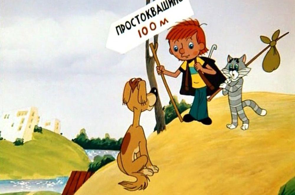 «Трое из Простоквашино» (1978), рейтинг 8,2. Первый фильм трилогии о Дяде Федоре, коте Матроскине и псе Шарике, которые приехали жить в деревню.