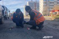 В Гае начался ремонт еще одного участка дороги.
