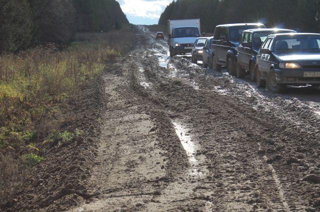 В ОНФ констатировали бездействие подрядчика по ремонту дороги в Удмуртии
