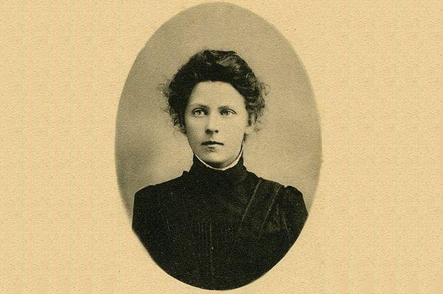 Мария Спиридонова в молодости, фото сделано до 1906 года.