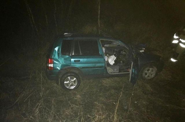 В массовом ДТП на трассе Вагай – Тобольск погибла пассажирка иномарки