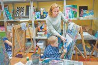 У руководителя студии «Спектр» Елены Гречишкиной индивидуальный подход к каждому ученику.