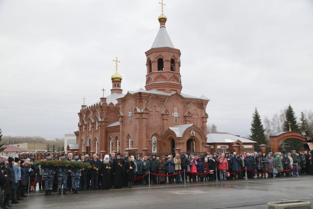 Храм в честь иконы Божией матери «Знамения»  в русско-византийском стиле – ещё и памятник архитектуры регионального значения.