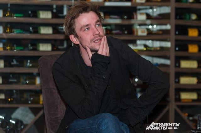 Александр поделился с пермяками впечатлениями о съёмках в фильме.